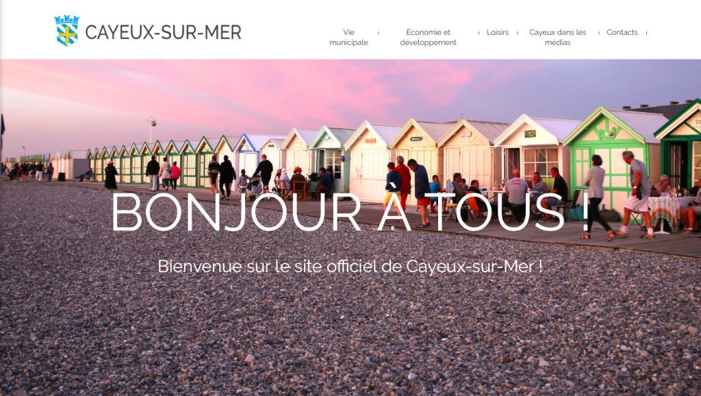 Site officiel de la Ville de Cayeux-sur-mer