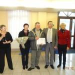 Remise de la médaille du travail de M. Briet le 19 décembre 2014