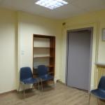 e 28 Janvier 2015 Visite des locaux et de la salle d'attente avant emménagement des docteurs au Centre Médico Social