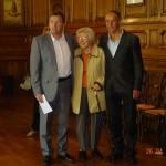 26 avril 2014 - Cérémonie de départ en retraite de M. Jocelyn LECAT, plombier à la ville de Cayeux-sur-Mer depuis 1983. Le Maire et le conseil municipal participaient à la cérémonie