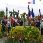 27 avril 2014 - Commémoration de la jouréne des Déportés. Dépôt de gerbes à la stèle, avec la participation des Amis de la Musique. Discours de Monsieur le Maire puis vin d'honneur offert par la Municipalité.