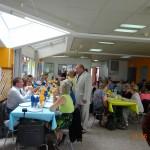 14 juin 2014 - Repas avec les résidents de la maison de retraite lors de la kermesse
