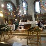 3 Aôut 2014L'église décorée pour la fête de la mer