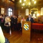 Céremonie de Monsieur le Maire le 4 Janvier 2015 en Salle d'honneur