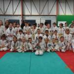 4 mai 2014 - 76 enfant de 7 à 12 ans se sont affrontés sur les tatamis sous l'oeil attentif de leur famille venue en grand nombre les soutenir.