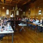 15 mai 2014 - Réunion PAPI (Programme d'Action de Prévention des Inondations) en mairie de Cayeux-sur-Mer : réunion importante pour l'avenir du territoire