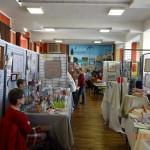 18 mai 2014 - A la rencontre des artistes...exposition à la salle des fêtes du Club Artistique Cayolais