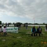 31 mai 2014 - Le ball-trap a rassemblé de nombreux participants